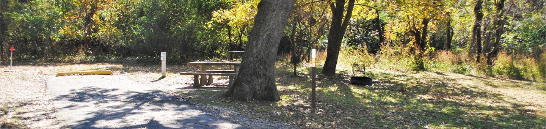 Applegate Cove Site 13Campsite 13