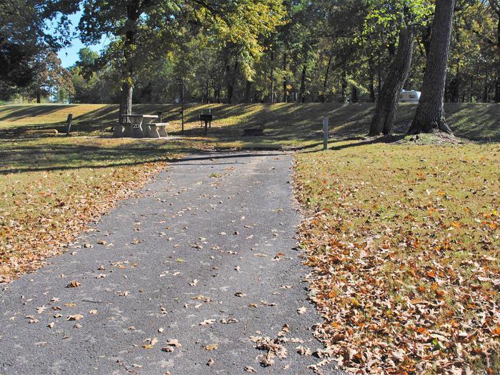 Applegate Cove Site 20Campsite 20