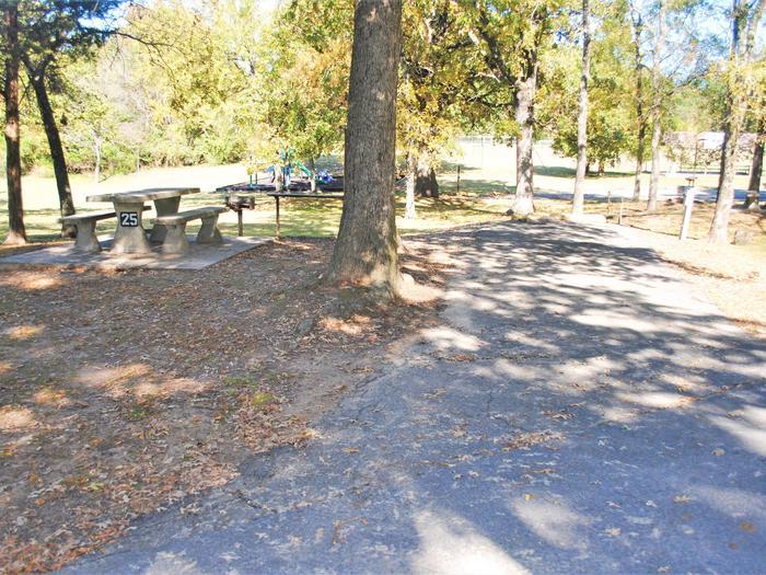 Applegate Cove Site 25Campsite 25
