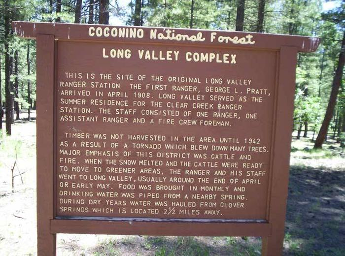 Long Valley Work Center Group Campground