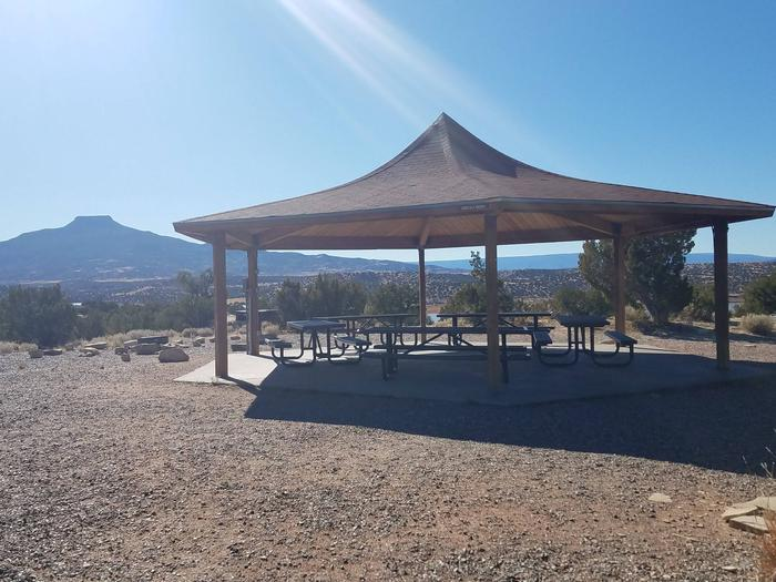 Picnic shelter at Group Shelter 1