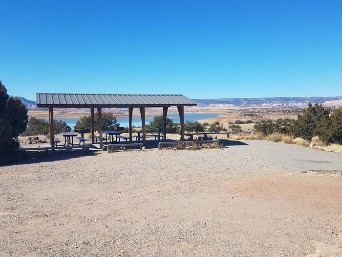 Picnic shelter at group shelter 2