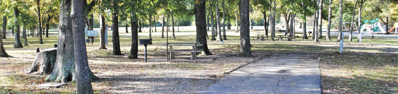 Cowlington Site 12Campsite 12