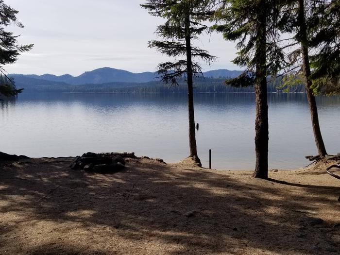 West Shores Site #1West Shores Boat-in Campsite #1