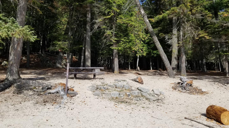 Silver Beach Site #15Silver Beach Boat-in Campsite #15