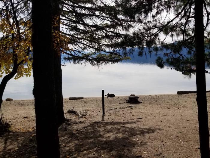 Silver Beach Site #19Silver Beach Boat-in Campsite #19