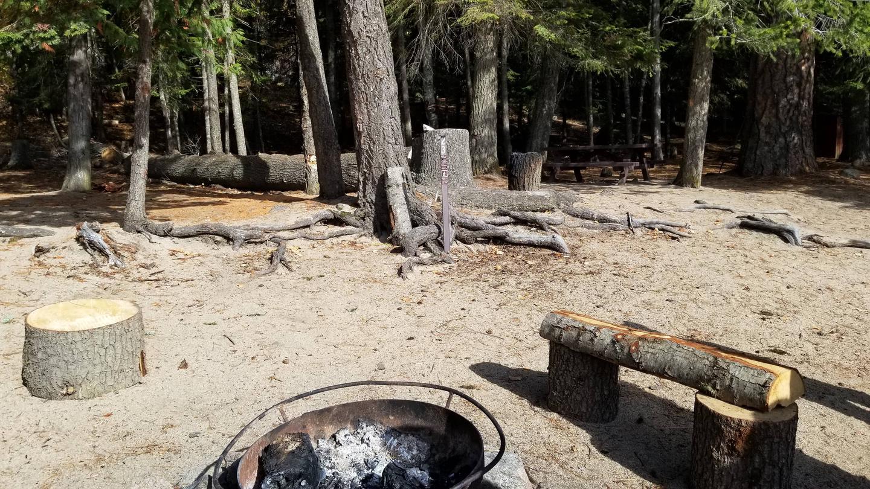 Silver Cove Site #23Silver Cove Boat-in Campsite #23