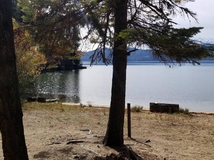 Silver Cove Site #25Silver Cove Boat-in Campsite #25