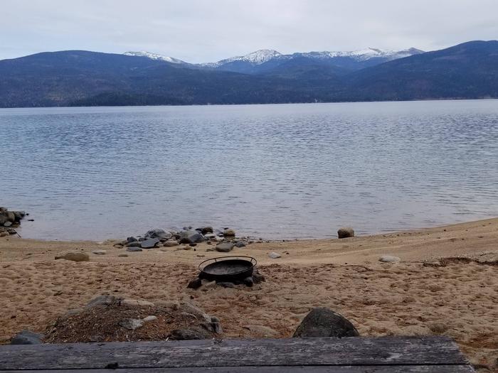 Three Pines Site #34Three Pines Boat-in Campsite #34