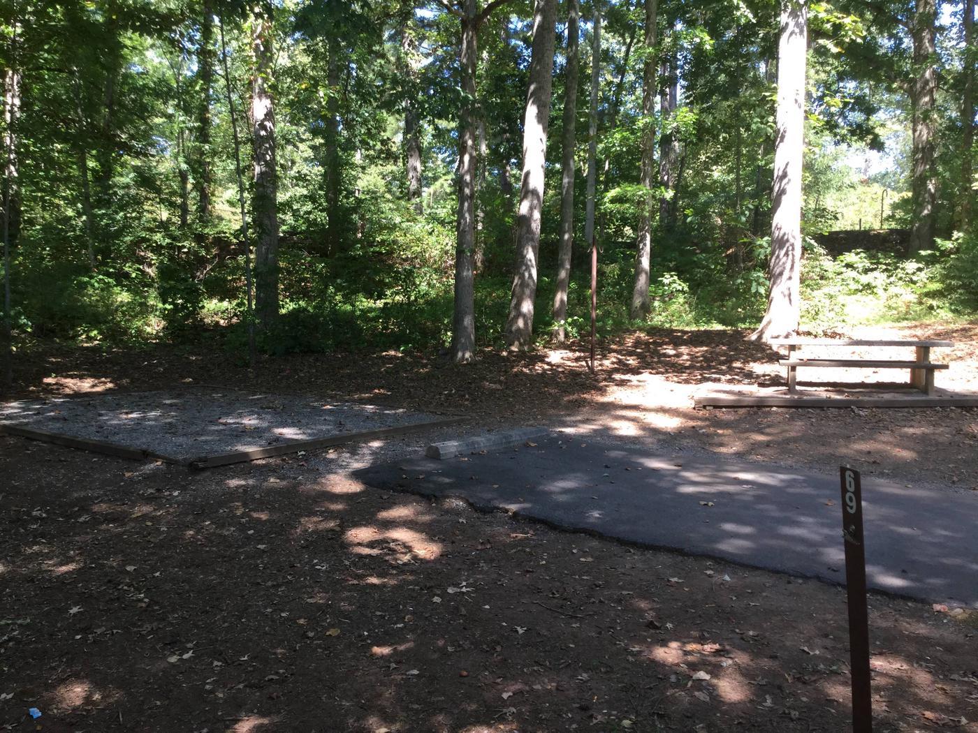 Jackrabbit Campground Site 69