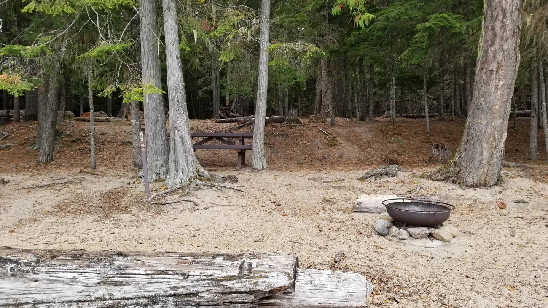 North Cove Site #45North Cove Boat-in Campsite #45