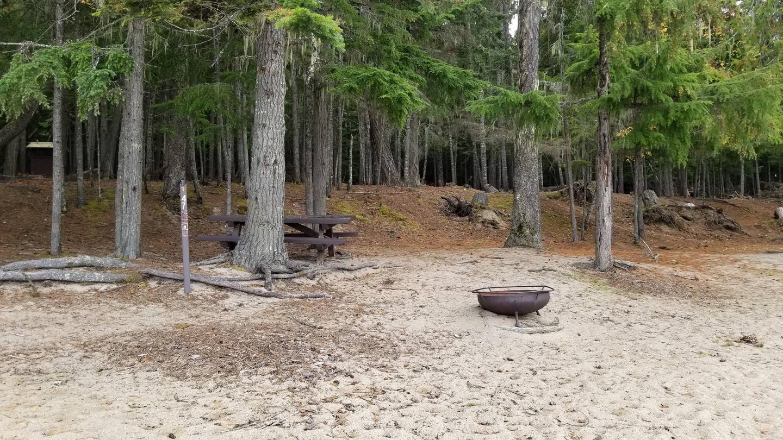 North Cove Site #47North Cove Boat-in Campsite #47