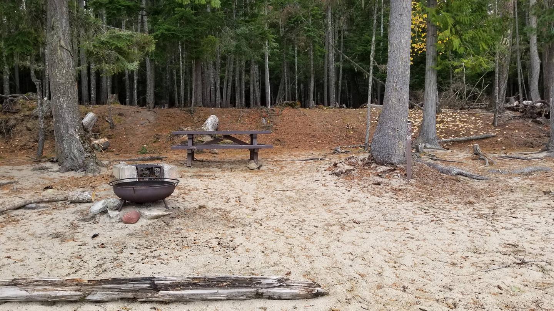 North Cove Site #48North Cove Boat-in Campsite #48