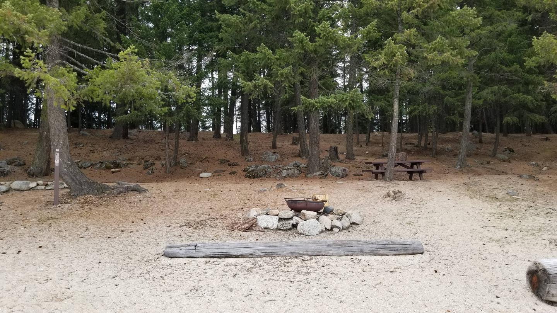 Schneider Site #10Schneider Boat-in Campsite #10