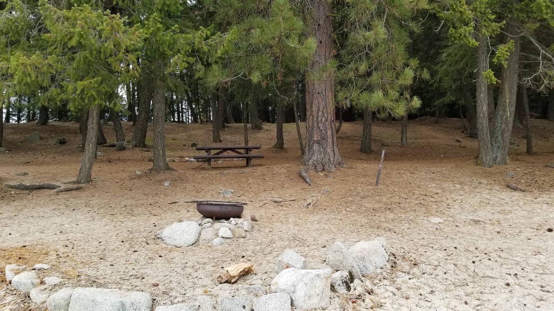 Schneider Site #11Schneider Boat-in Campsite #11