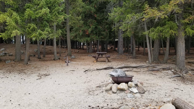 Schneider Site #13Schneider Boat-in Campsite #13