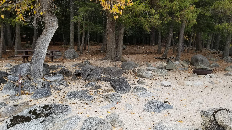 Schneider Site #14Schneider Boat-in Campsite #14