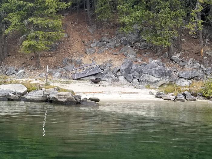 Kalispell Vista Site #51Kalispell Vista Boat-in Site #51