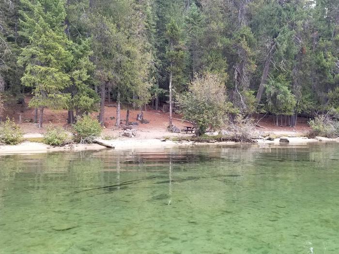 Peninsula Site #8Peninsula Boat-in Campsite #8