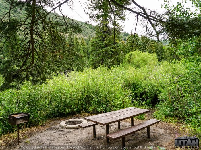 Spruces Campground – Big Cottonwood CanyonSite 47