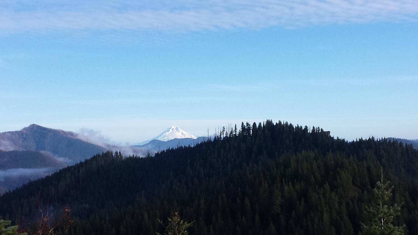 View of Mt. HoodView of Mt. Hood from Gold Butte Lookout