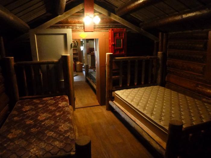 Back Bedroom2 Beds in the back room