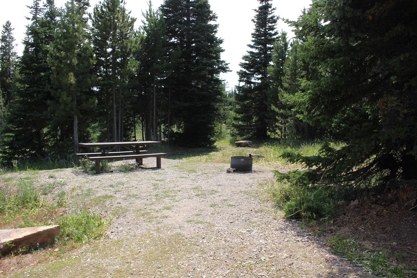 Site 12Table and Fire Ring