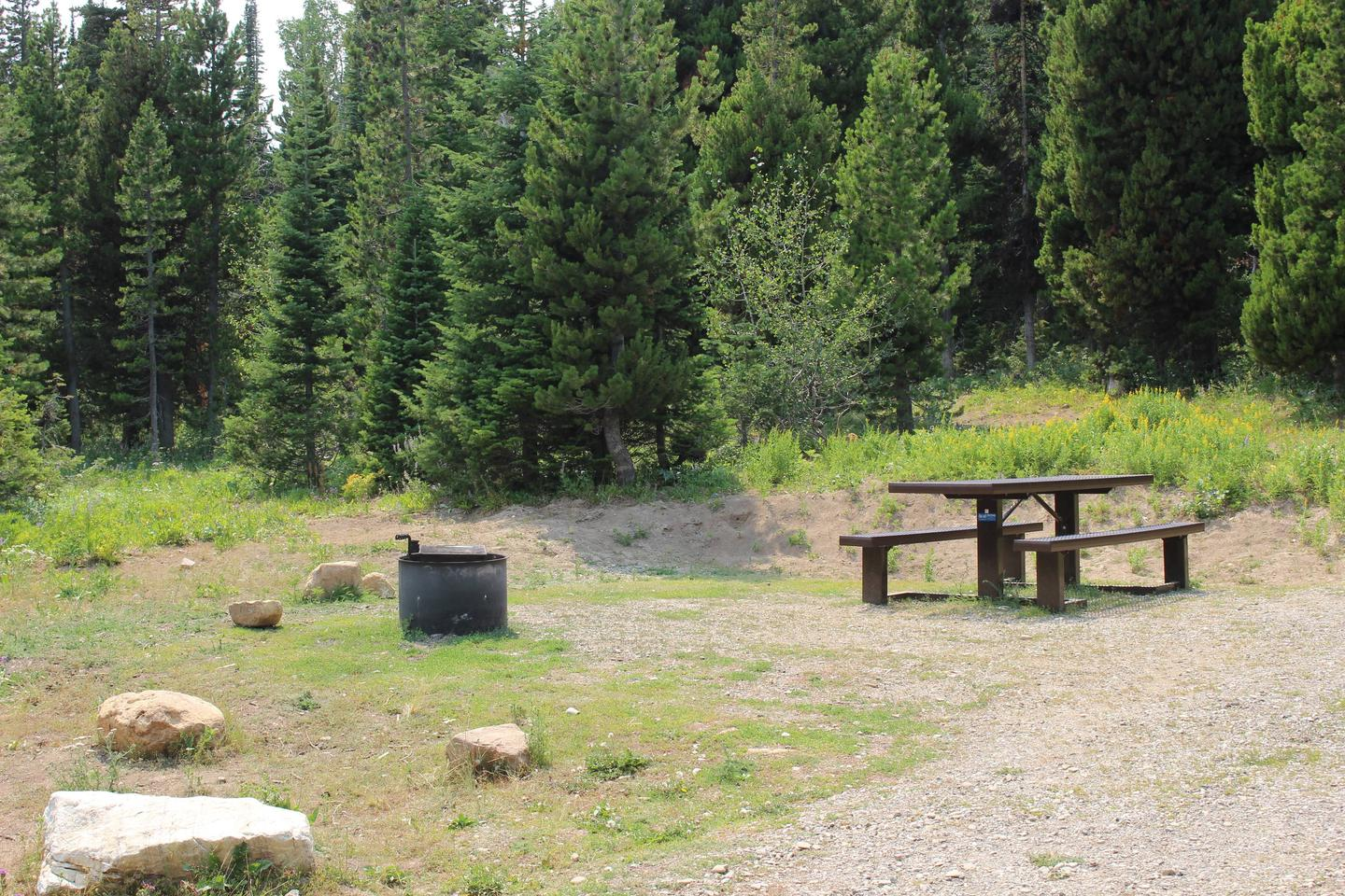Site 20Table and Fire Ring