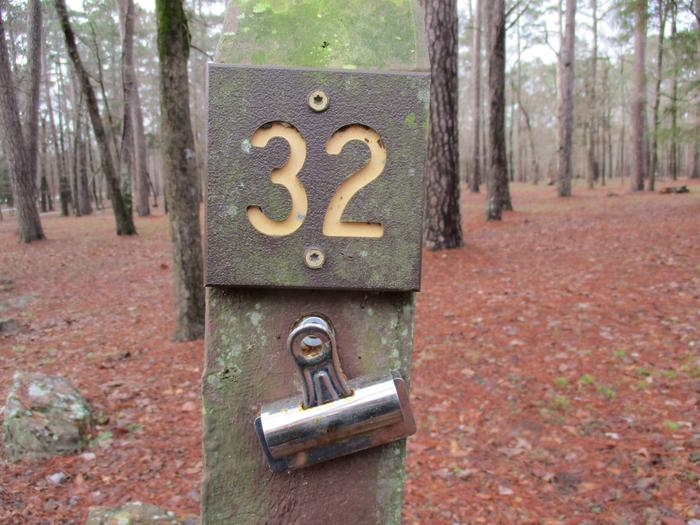 RV or tent site #32