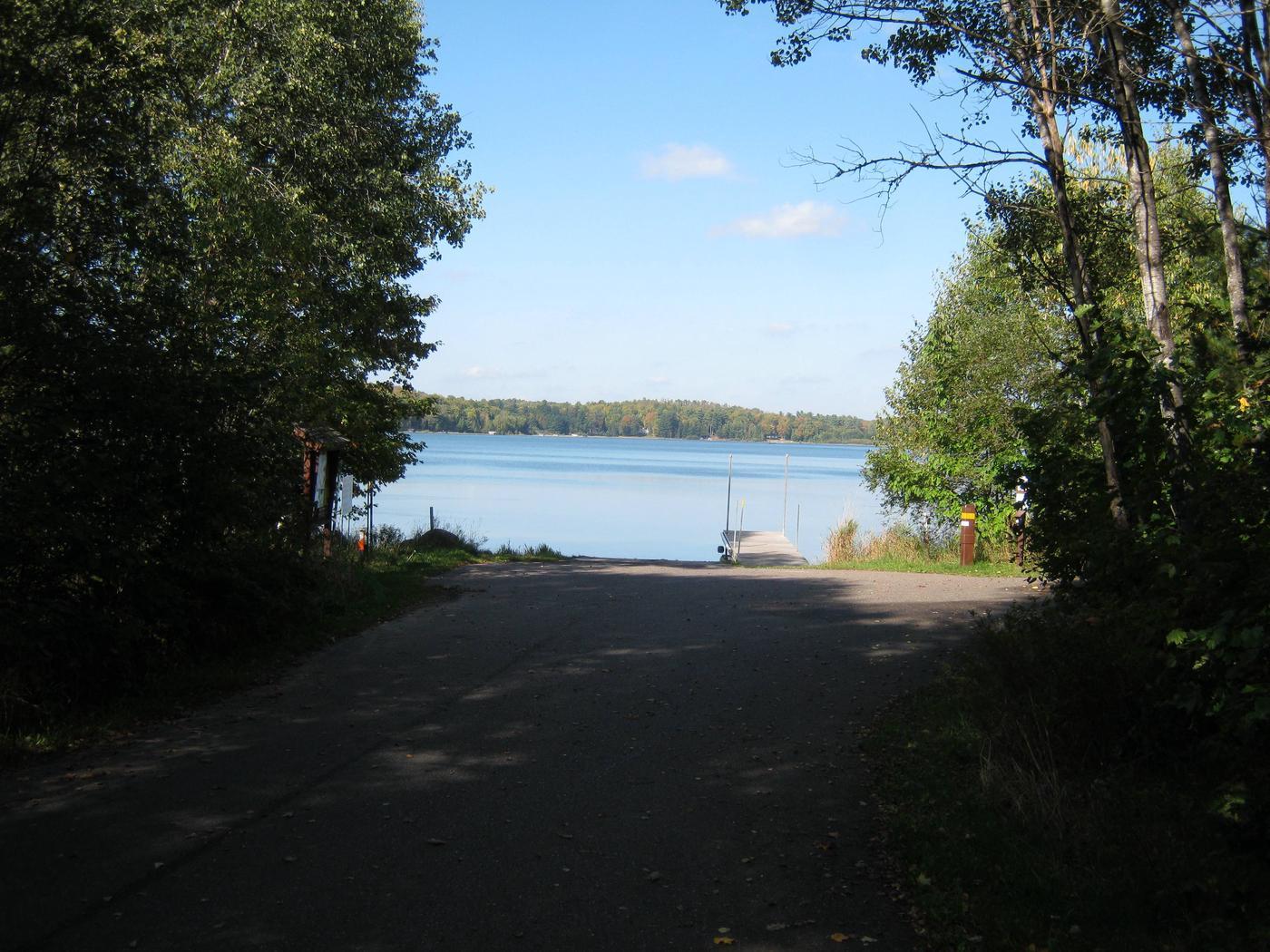 Anvil Lake Boat LandingBoat landing at Anvil Lake Campground