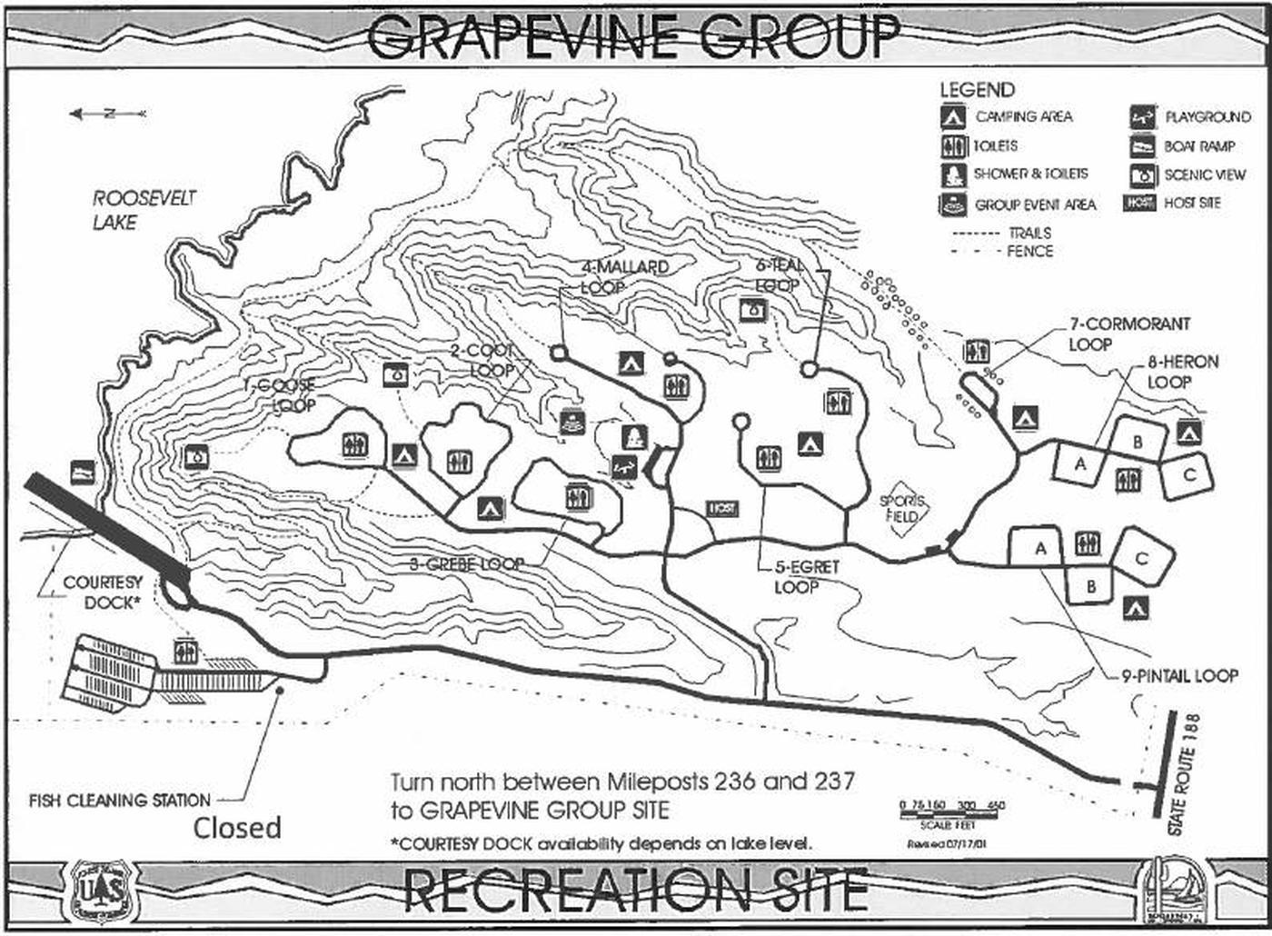 GRAPEVINE GROUP RECREATION SITELoops