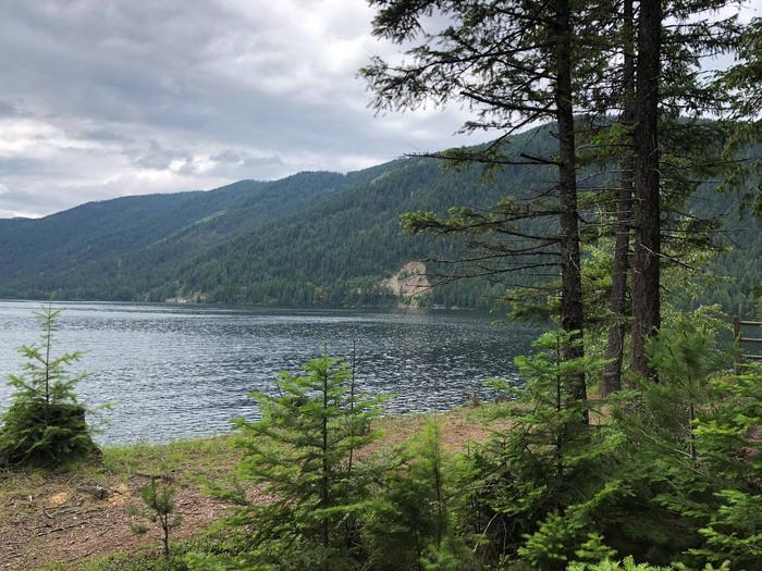 Sullivan Lake from East Sullivan Campground