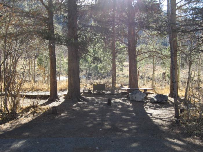 Gull Lake Campground Site 1Site 1