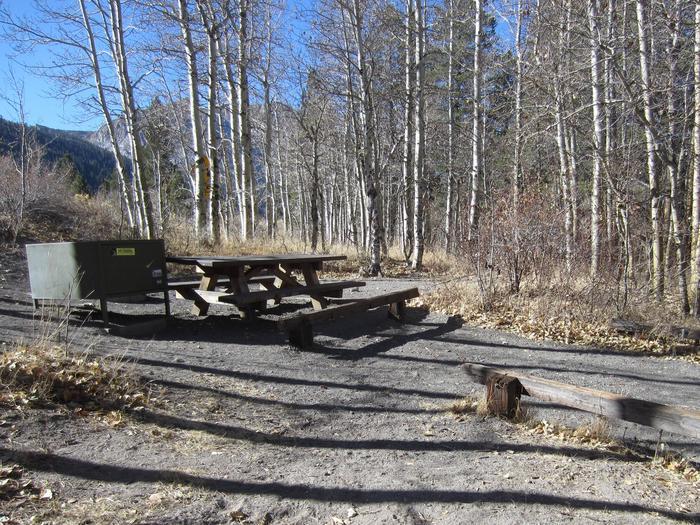 Gull Lake Campground Site 3Site 3