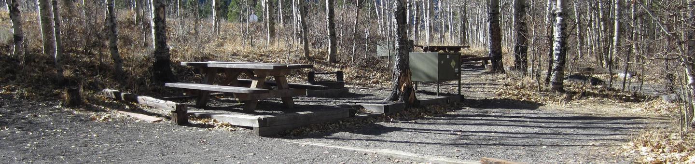 Gull Lake Campground Site 4Site 4
