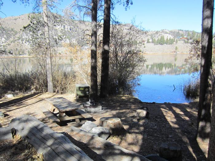 Gull Lake Campground Site 8Site 8