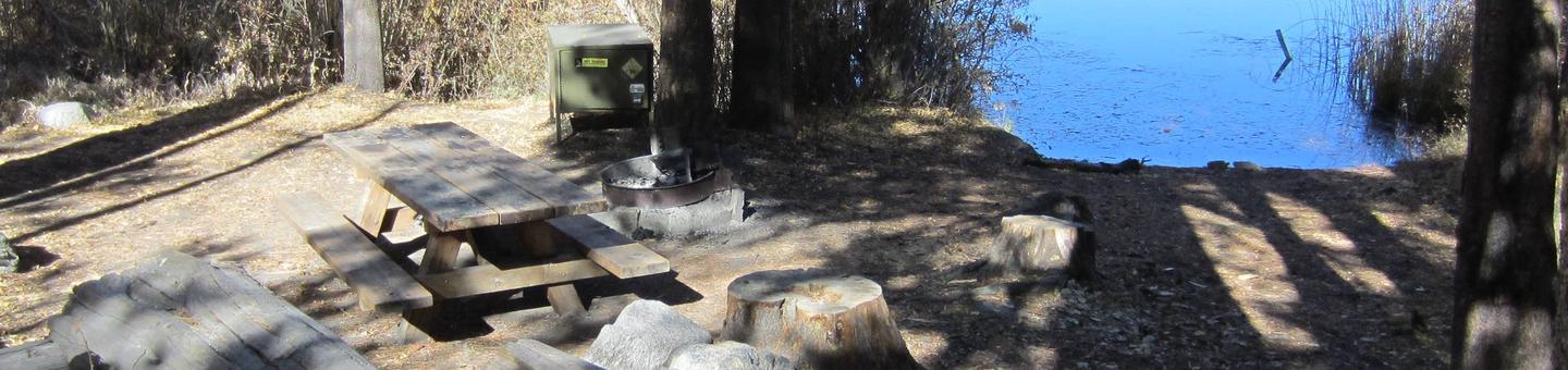 Gull Lake Campground Site 9Site 9