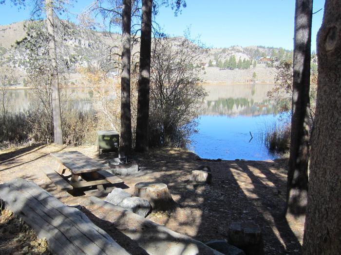 Gull Lake Campground Site 9Site 9
