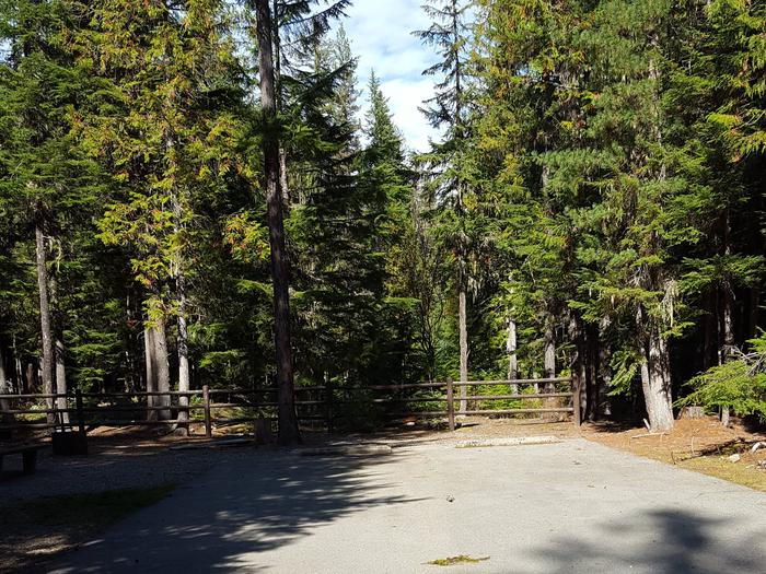 Beaver Creek Campground Site 1
