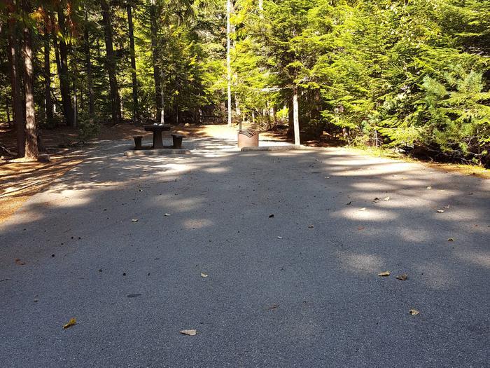 Beaver Creek Campground Site 4