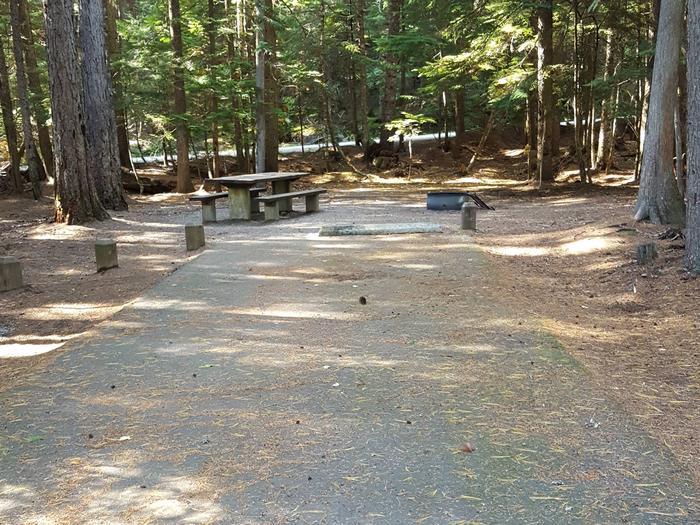 Beaver Creek Campground Site 12