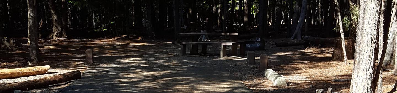Beaver Creek Campground Site 14