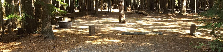 Beaver Creek Campground Site 17