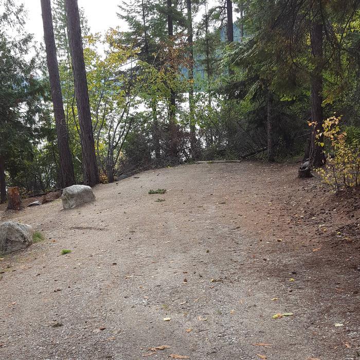 Osprey Campground Site 9 Parking Spur