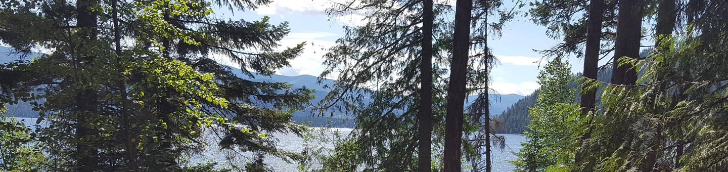 Priest Lake from Osprey Campground