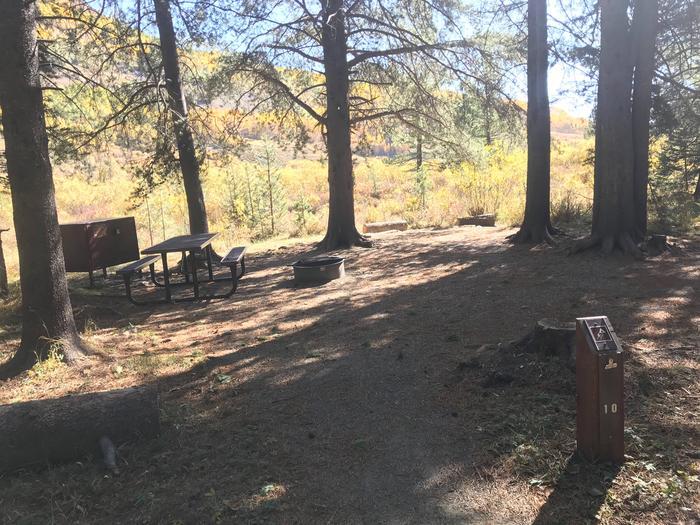 Campsite #10 (Tent Campsite)