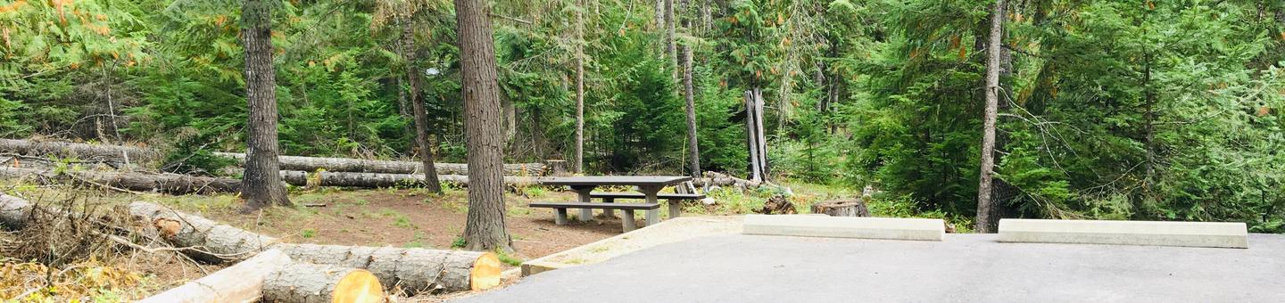 Outlet Campground Site 5