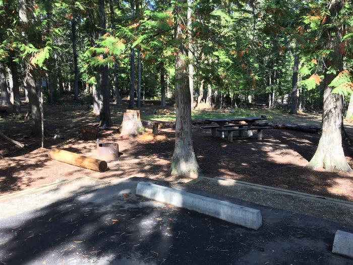 Outlet Campground Site 9