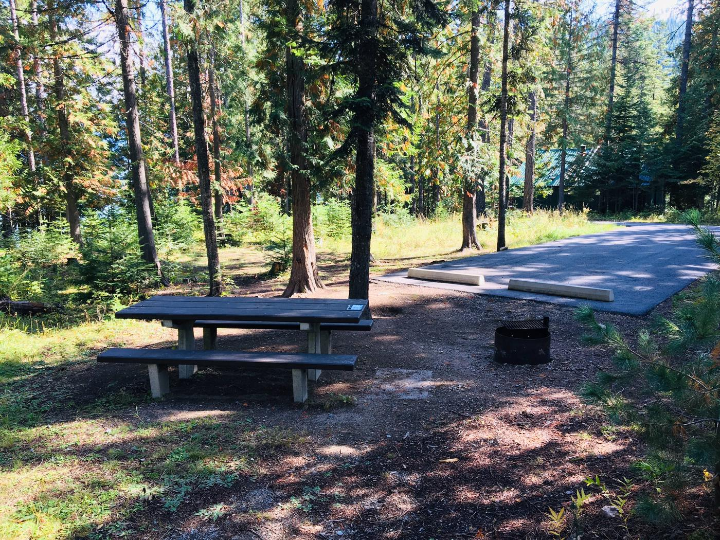 Outlet Campground Site 10