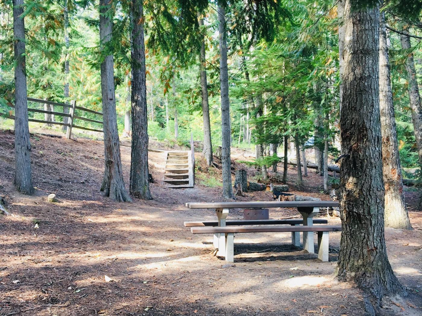 Outlet Campground Site 11
